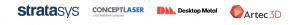 Direct 3D Printing - Resseller Logo Banner