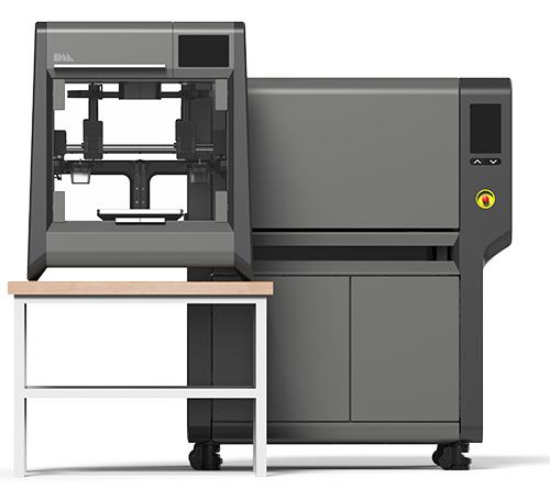 Desktop metal printer furnace