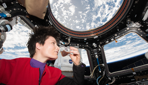 3D Printing Brings the Familiarity of Home to the International Space Station