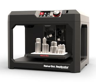 Markerbot replicator 3D printer