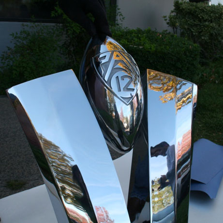 3D Printed Investment Casting Pattern for the PAC 12 Trophy