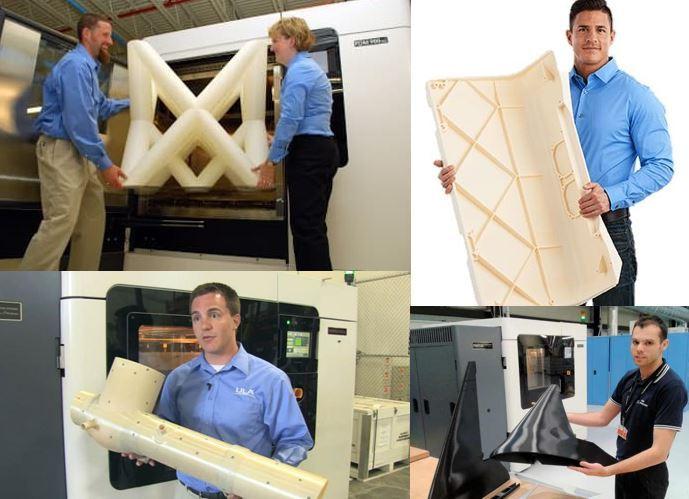 Lardge 3D printing parts