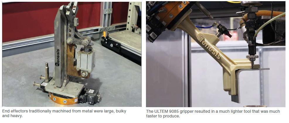 Genesis 3D printing materials